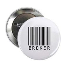 "Broker Barcode 2.25"" Button"