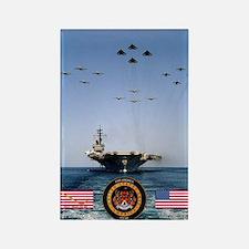USS America CV-66 Rectangle Magnet