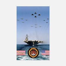 USS America CV-66 Rectangle Decal