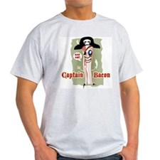 Captain Bacon Pirate T-Shirt