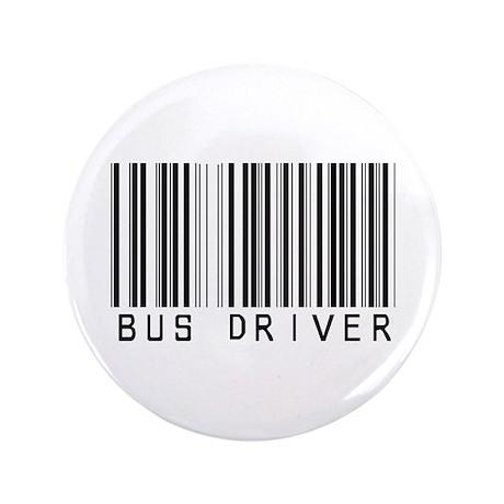 "Bus Driver Barcode 3.5"" Button"