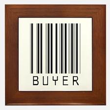 Buyer Barcode Framed Tile