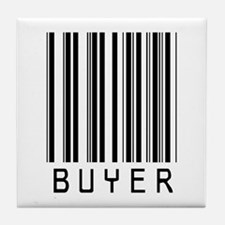 Buyer Barcode Tile Coaster