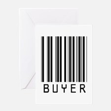 Buyer Barcode Greeting Card