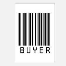 Buyer Barcode Postcards (Package of 8)