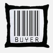 Buyer Barcode Throw Pillow