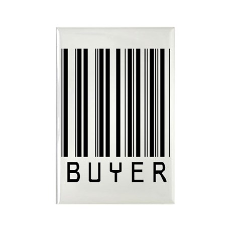 Buyer Barcode Rectangle Magnet (10 pack)