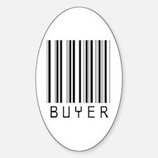Buyer Barcode Oval Sticker (50 pk)