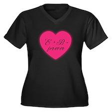 Edward + Bella = Forever Women's Plus Size T-Shirt