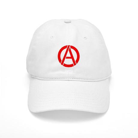 Anarchy Symbol Stencil Cap