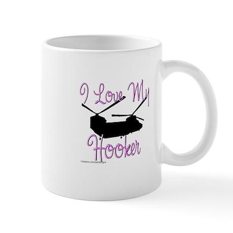 I Love My Hooker Mug
