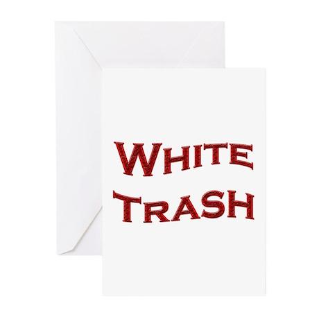 White Trash Greeting Cards (Pk of 10)