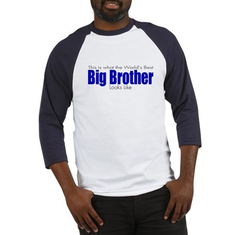 Worlds Best Big Brother Baseball Jersey