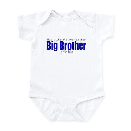 Worlds Best Big Brother Infant Bodysuit