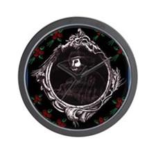 Phantom (with Red Roses) ~ Wall Clock