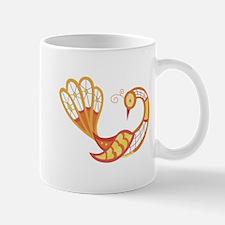 Lace Peacock Mug