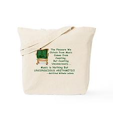 Music and Math Tote Bag
