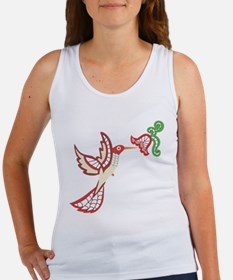 Lace Hummingbird Women's Tank Top