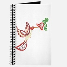Lace Hummingbird Journal