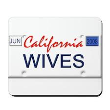 Lesbian wives Mousepad