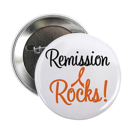 "Remission Rocks Leukemia 2.25"" Button"