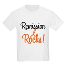 Remission Rocks Leukemia T-Shirt