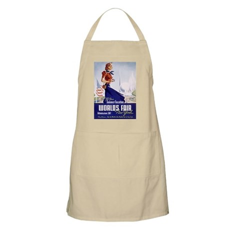 New York World's Fair BBQ Apron