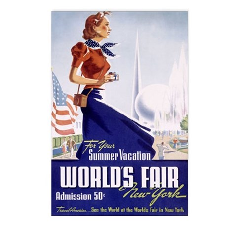 New York World's Fair Postcards (Package of 8)
