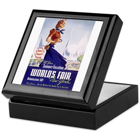 New York World's Fair Keepsake Box