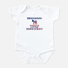 Breanna - Daddy's Democrat Infant Bodysuit