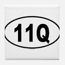 11Q Tile Coaster