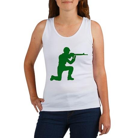 Kneeling Toy Soldier Women's Tank Top