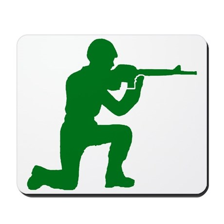 Kneeling Toy Soldier Mousepad