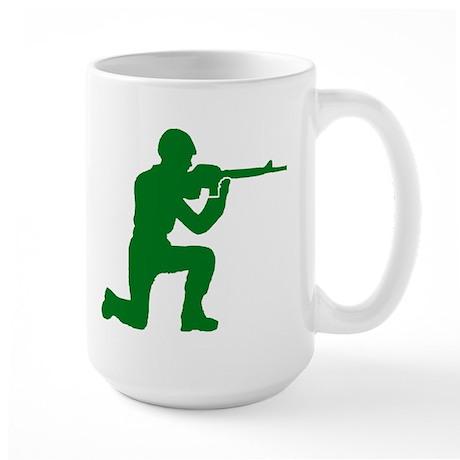 Kneeling Toy Soldier Large Mug