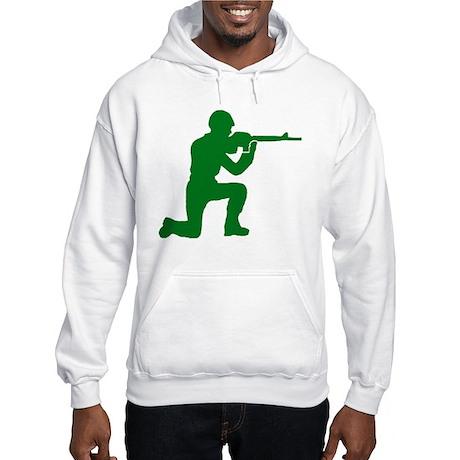 Kneeling Toy Soldier Hooded Sweatshirt