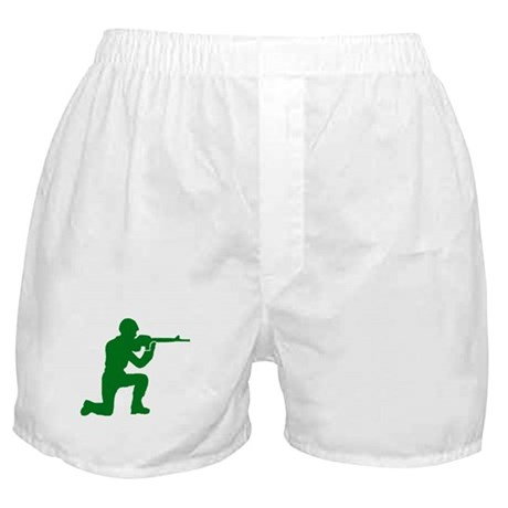 Kneeling Toy Soldier Boxer Shorts