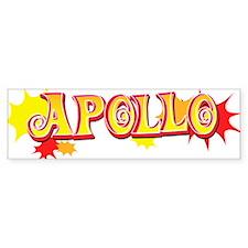 Apollo Bumper Bumper Sticker