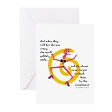 Crazy! Greeting Cards (Pk of 10)