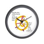 Crazy! Wall Clock