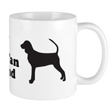 BLACK TAN COONHOUND Mug