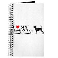 BLACK TAN COONHOUND Journal