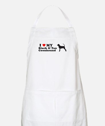 BLACK TAN COONHOUND BBQ Apron
