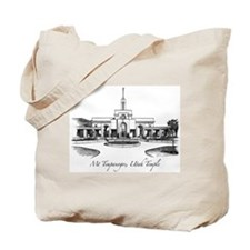 Mt Timpanogos Temple Tote Bag