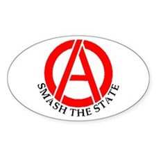 Smash the State Oval Decal