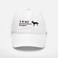 AUSTRALIAN KELPIE Baseball Baseball Cap