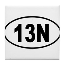 13N Tile Coaster