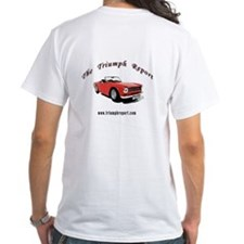 White TR-6 T-shirt