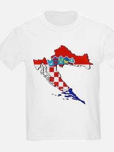 Croatia Map T-Shirt