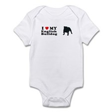 ENGLISH BULLDOG Infant Bodysuit