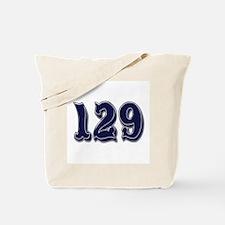 129 Tote Bag
